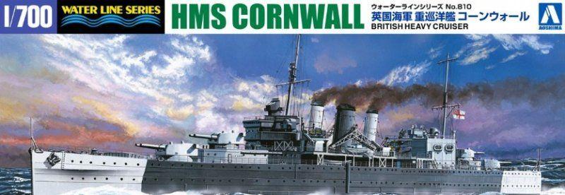 AOSHIMA 1/700 05674 HMS CORNWALL