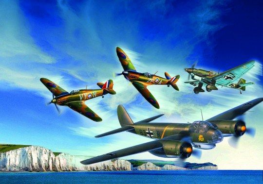 REVELL 1/72 05691 80TH ANNIVERSARY BATTLE OF BRITAIN GIFT SET