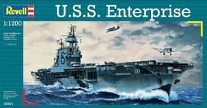 REVELL 1/1200 05801 USS ENTERPRISE