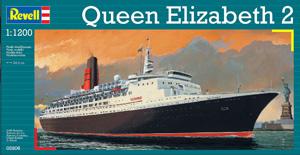 REVELL 1/1200 05806 QUEEN ELIZABETH 2