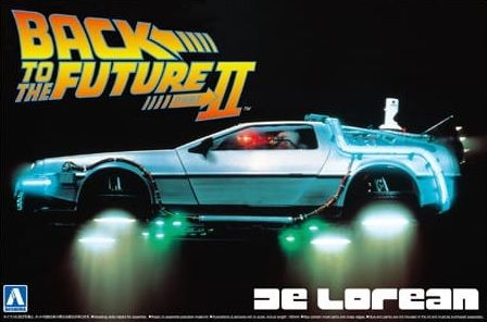 AOSHIMA 1/24 05917 BACK TO THE FUTURE PART II DE LOREAN