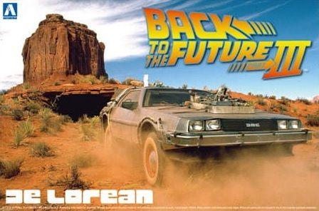 AOSHIMA 1/24 05918 BACK TO THE FUTURE PART III DE LOREAN