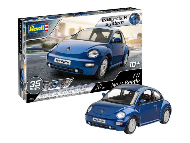 REVELL 1/24 07643 VW NEW BEETLE