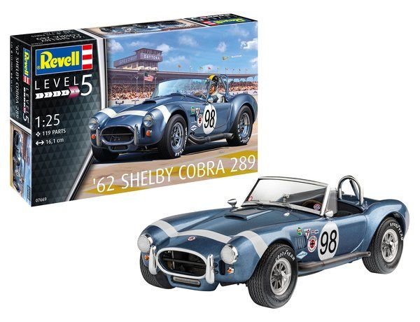 REVELL 1/25 07669  62 SHELBY COBRA 289