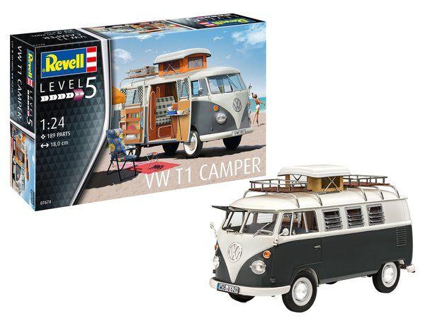 REVELL 1/24 07674 VW T1 CAMPER
