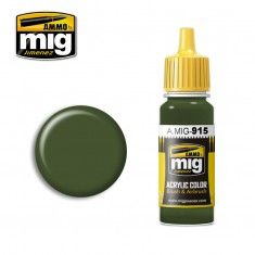 AMMO BY MIG JIMENEZ  0915 DARK GREEN  BS 241  17ml ACRYLIC PAINT FOR BRUSH   AIRBRUSH