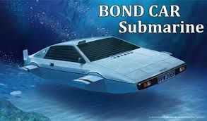 FUJIMI 1/24 091921 JAMES BOND CAR SUBMARINE