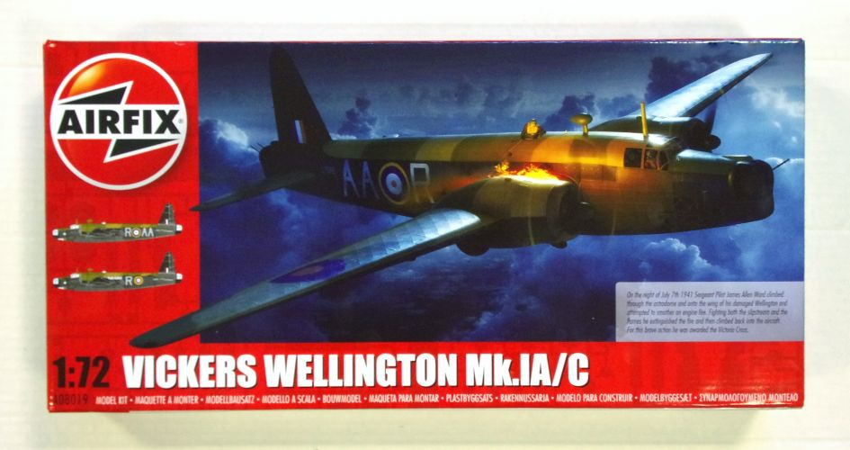 AIRFIX 1/72 08019 VICKERS WELLINGTON Mk.IA/C