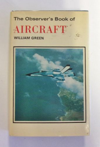 CHEAP BOOKS  ZB2022 THE OBSERVER S BOOK OF AIRCRAFT 1978 EDITION - WILLIAM GREEN