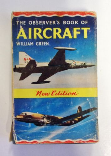 CHEAP BOOKS  ZB2021 THE OBSERVER S BOOK OF AIRCRAFT 1966 EDITION - WILLIAM GREEN