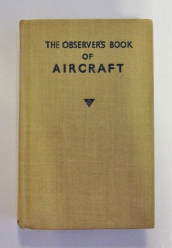 CHEAP BOOKS  ZB2020 THE OBSERVER S BOOK OF AIRCRAFT - WILLIAM GREEN