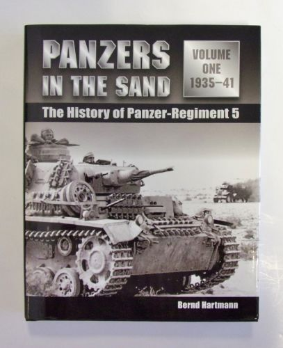 CHEAP BOOKS  ZB2000 PANZERS IN THE SAND VOLUME ONE 1935-41 THE HISTORY OF PANZER-REGIMENT 5 - BERND HARTMANN