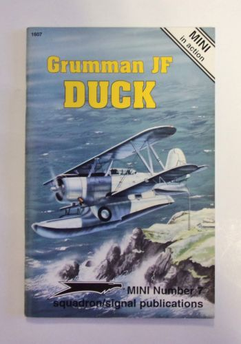 CHEAP BOOKS  ZB1987 MINI IN ACTION NUMBER 7 - GRUMMAN JF DUCK