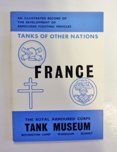 CHEAP BOOKS  ZB1986 TANKS OF OTHER NATIONS - FRANCE