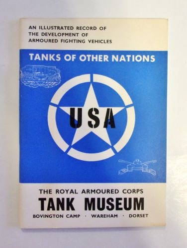 CHEAP BOOKS  ZB1985 TANKS OF OTHER NATIONS - USA