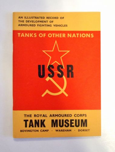 CHEAP BOOKS  ZB1984 TANKS OF OTHER NATIONS - USSR