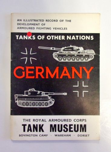 CHEAP BOOKS  ZB1983 TANKS OF OTHER NATIONS - GERMANY