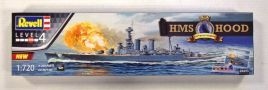 REVELL 1/720 05693 HMS HOOD 100TH ANNIVERSARY