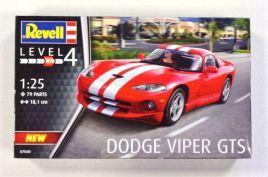 REVELL 1/25 07040 DODGE VIPER GTS
