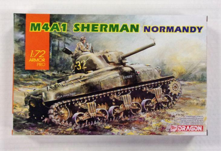 DRAGON 1/72 7568 M4A1 SHERMAN NORMANDY