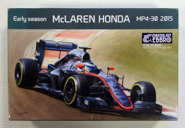 EBBRO 1/20 013 EARLY SEASON McLAREN HONDA MP4-30 2015