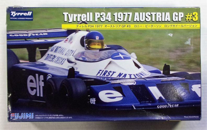 FUJIMI 1/20 GP48 TYRRELL P34 1977 AUSTRIA GP 3