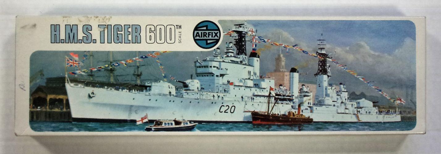 AIRFIX 1/600 03201 H.M.S. TIGER 600