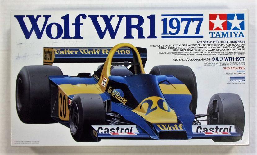 TAMIYA 1/20 20064 WOLF WR1 1977