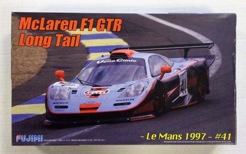 FUJIMI 1/24 RS-45 McLAREN F1 GTR LONG TAIL