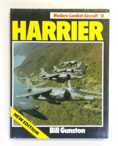 CHEAP BOOKS  ZB2600 MODERN COMBAT AIRCRAFT 13 - HARRIER - BILL GUNSTON