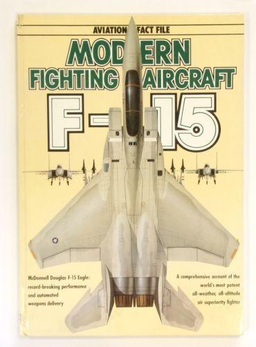 CHEAP BOOKS  ZB2655 MODERN FIGHTING AIRCRAFT F-15 - AVIATION FACT FILE