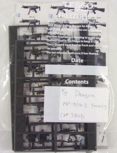 DRAGON 1/35 BK205 3803 MP-5/G-3 FAMILY  NO BOX
