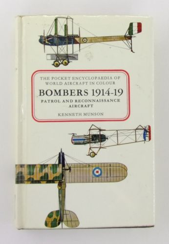 CHEAP BOOKS  ZB2784 THE POCKET ENCYCLOPAEDIA OF NWORLD AIRCRAFT BOMBERS 1914-19 PATROL AND RECON