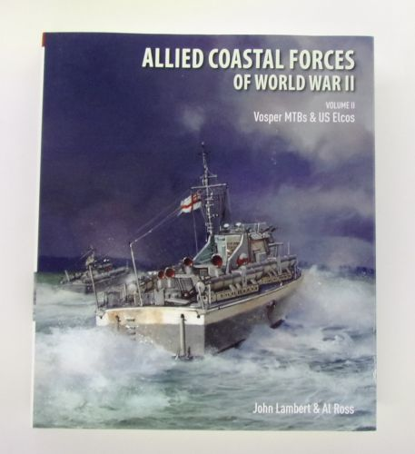 CHEAP BOOKS  ZB3069 ALLIED COASTAL FORCES OF WORLD WAR II -  JOHN LAMBERT
