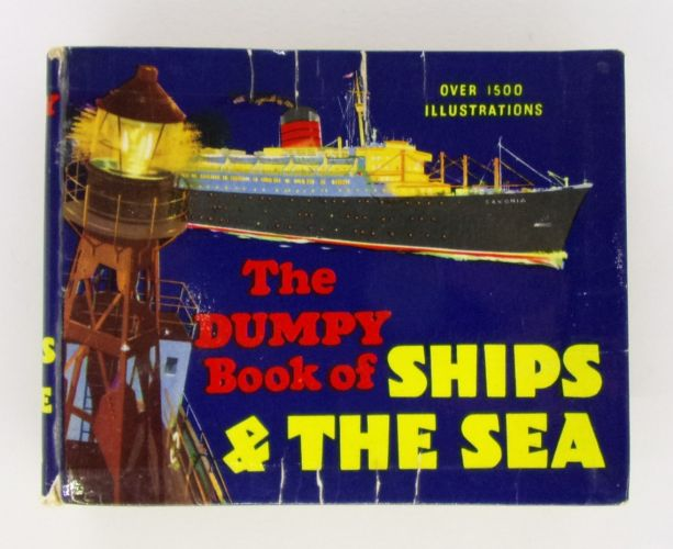 CHEAP BOOKS  ZB3090 THE DUMPY BOOK OF SHIPS AND THE SEA