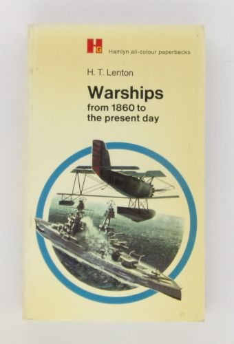 CHEAP BOOKS  ZB3088 H.T. LENTON WARSHIPS FROM 1860 TO THE PRESENT DAY
