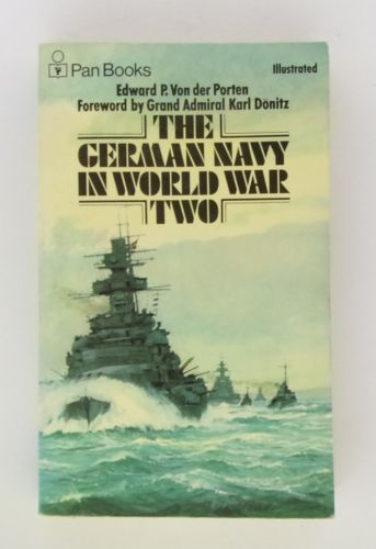 CHEAP BOOKS  ZB3089 THE GERMAN NAVY IN WORLD WAR TWO - EDWARD P.VON DER PORTEN