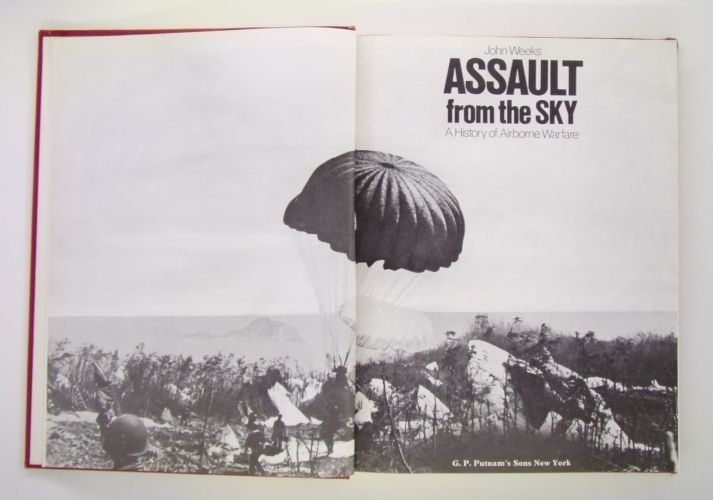CHEAP BOOKS  ZB3083 JOHN WEEKS ASSAULT FROM THE SKY