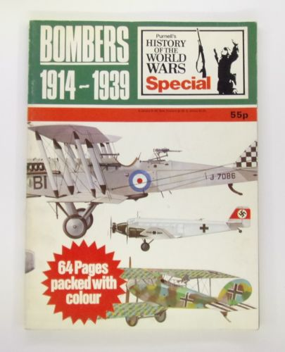 CHEAP BOOKS  ZB3084 BOMBERS 1914 - 1939 PURNELLS HISTORY OF THE WORLD WARS SPECIAL