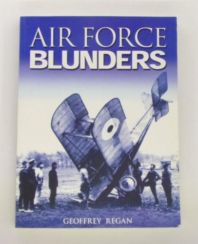 CHEAP BOOKS  ZB3076 AIR FORCE BLUNDERS - GEOFFREY REGAN