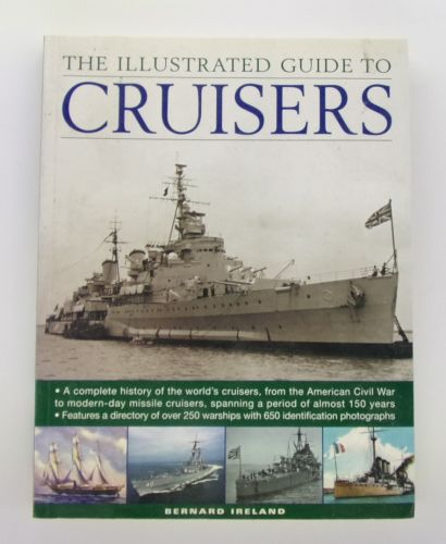 CHEAP BOOKS  ZB3075 THE ILLUSTRATED GUIDE TO CRUISERS - BERNARD IRELAND