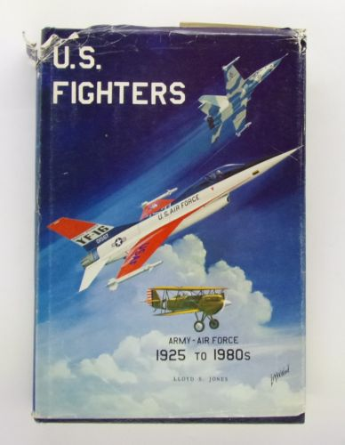 CHEAP BOOKS  ZB3070 U.S. FIGHTERS 1925 TO 1980s - LLOYD S. JONES