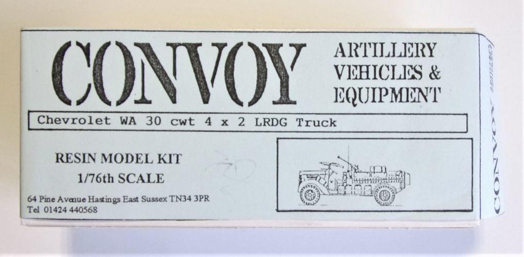 CONVOY 1/76 24 CHEVROLET WA 30 CWT 4 X 2 LRDG TRUCK