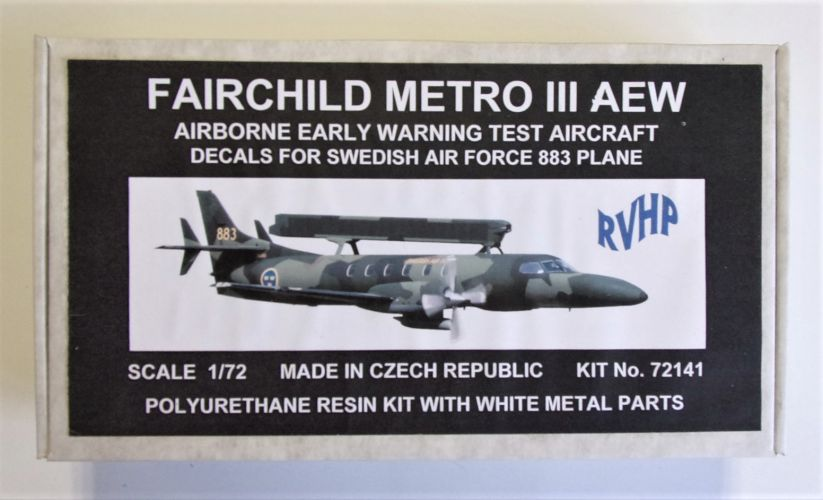 RVHP 1/72 72141 FAIRCHILD METRO III AEW
