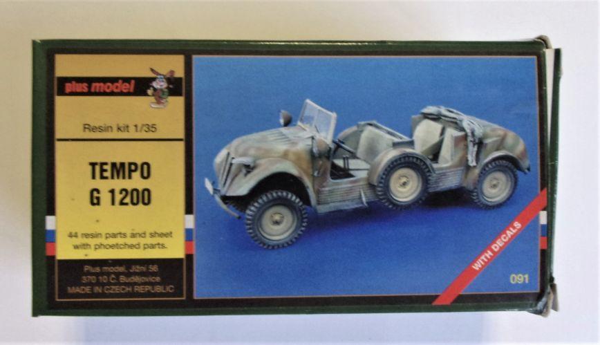 PLUS MODEL 1/35 091 TEMPO G 1200