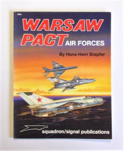 SQUADRON/SIGNAL  6054 WARSAW PACT AIR FORCES - HANS-HEIRI STAPFER