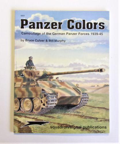 SQUADRON/SIGNAL  6251 PANZER COLORS GERMAN PANZER CAMOUFLAGE 1939-45