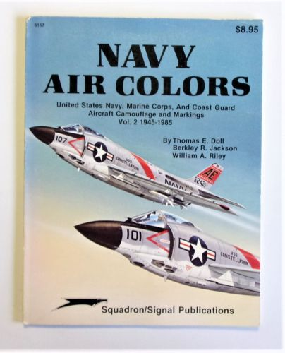 SQUADRON/SIGNAL  6157 NAVY AIR COLORS