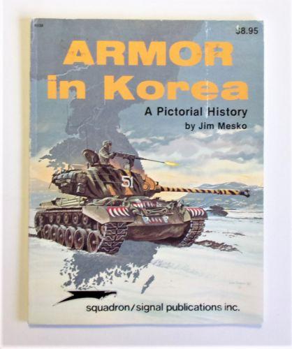 SQUADRON/SIGNAL  6038 ARMOUR IN KOREA - JIM MESKO