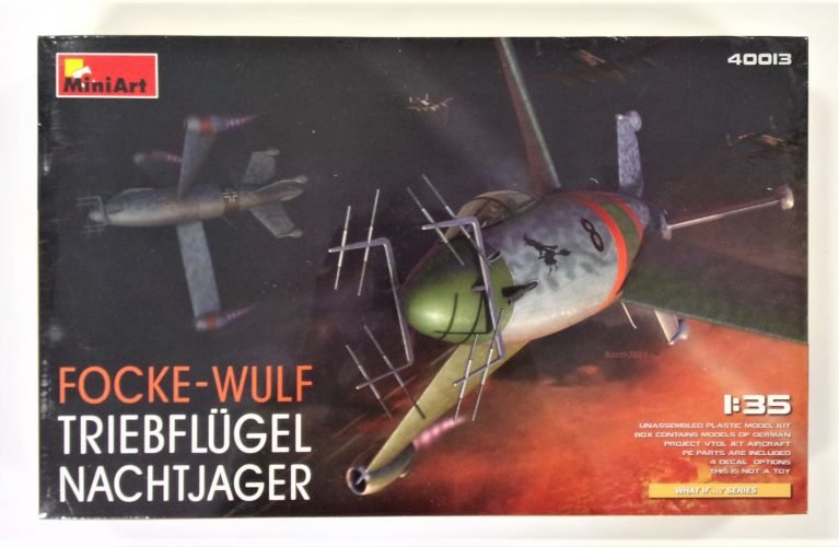 MINIART 1/35 40013 FOCKE-WULF TRIEBFLUGEL NACHTJAGER